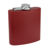 Personalized Flask Drinking Flask Maroon
