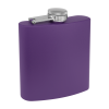 Personalized Flask Drinking Flask Purple