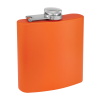 Personalized Flask Engraved Flask Orange