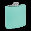 Personalized Flask Liquor Flask Seafoam