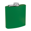 Personalized Flask Whiskey Flask Green