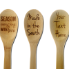 Kitchen Gift Ideas - engraved wooden spoons