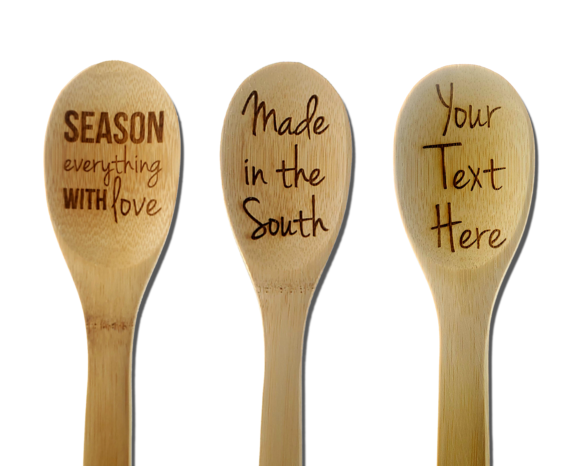 Kitchen Gift Ideas – engraved wooden spoons