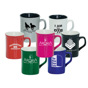 Personalized Ceramic Coffee Mugs with Handle